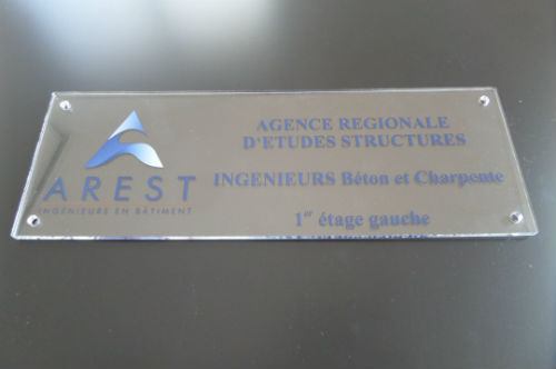 Plaque agence